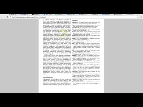 Видео Critical analysis of journal article