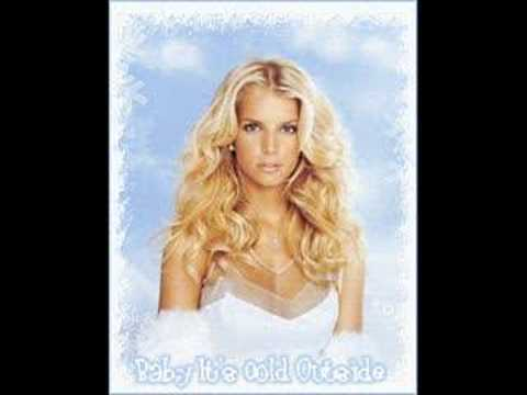 Jessica Simpson & Nick Lachey Baby It's Cold Outside - YouTube