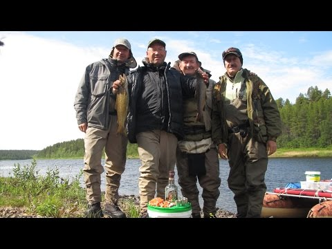 путешествия и рыбалка по кольскому полуострову