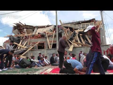 Belgrade Muslims Pray After Mosque Demolished