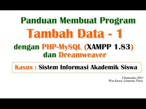 akademik-sekolah-2-:-panduan-membuat-program-tambah-data-1-dengan-php-mysql-dan-dreamweaver