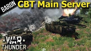 War Thunder Tanks - Tank Events Available on Live Server (For CBT Participants)