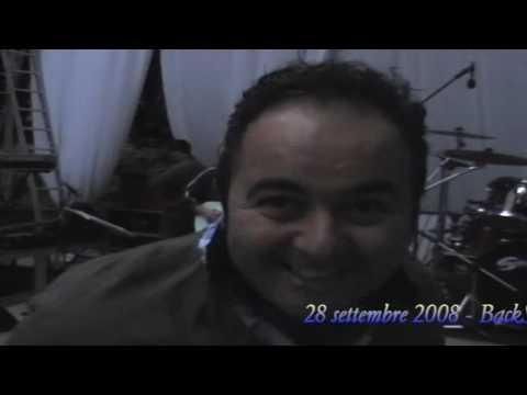 BackStage del concerto di Gino De Martino