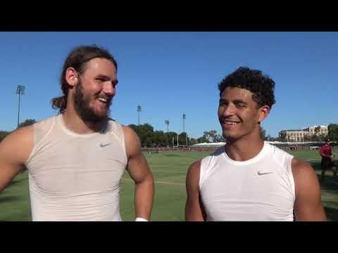 Stanford's Parkinson And Wilson Talk Team Motivation, Offense