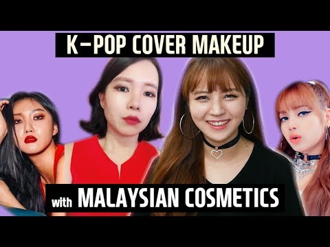 K-POP cover makeup with Malaysian cosmetics l Lisa, Eunha, Hwasa l Blimey Everybody ep.2