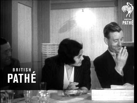 """The B.B.C. Brains Trust Answering """"Any Questions?"""" Reel 2 (1945)"""