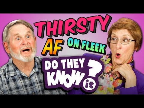 DO ELDERS KNOW MODERN SLANG? (REACT: Do They Know It?)