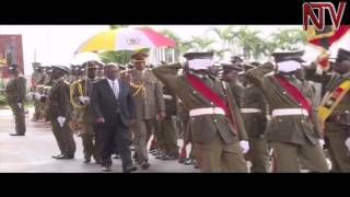 Heads of state arrive for Museveni swearing in