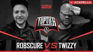Robscure vs. Twizzy | TOPTIER TAKEOVER Berlin 02.11.2019
