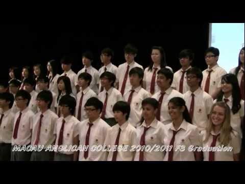 2011 07 08 MACAU ANGLICAN COLLEGE 2010-2011 F3 Graduation