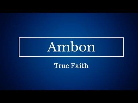 ambon-true faith