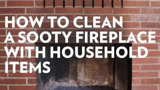 How To Clean Your Fireplace Using 2 Household Items!