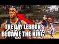 The Day LeBron James Became The King of The NBA
