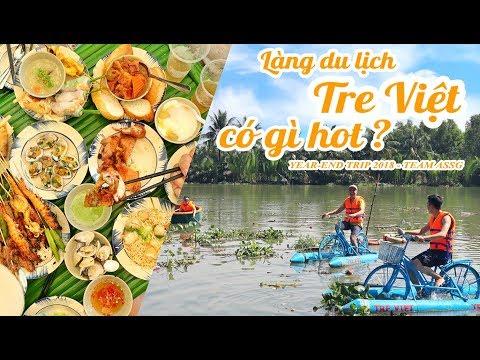 LÀNG DU LỊCH TRE VIỆT của Shark Khoa có gì hot ? || Year-end trip || Ăn Sập Sài Gòn