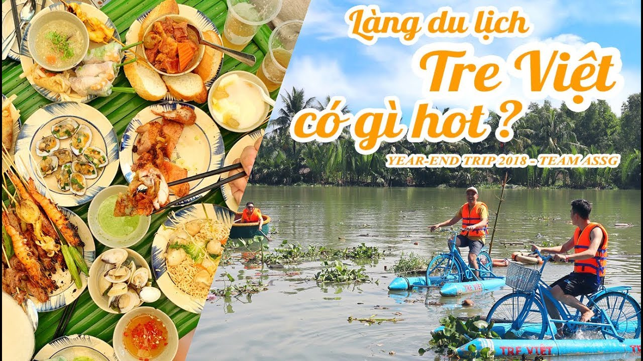LÀNG DU LỊCH TRE VIỆT của Shark Khoa có gì hot ?    Year-end trip    Ăn Sập Sài Gòn