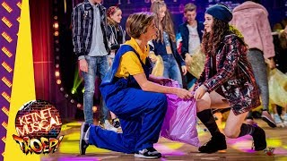 Ilya en Flore brengen Let's do this together in de finale van Ketnet Musical TROEP!