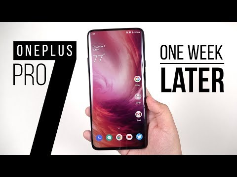 OnePlus 7 Pro: 1 Week Later (vs Galaxy S10+)