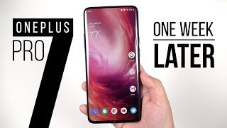 Download OnePlus 7 Pro: 1 Week Later (vs Galaxy S10+) Mp3 and Videos