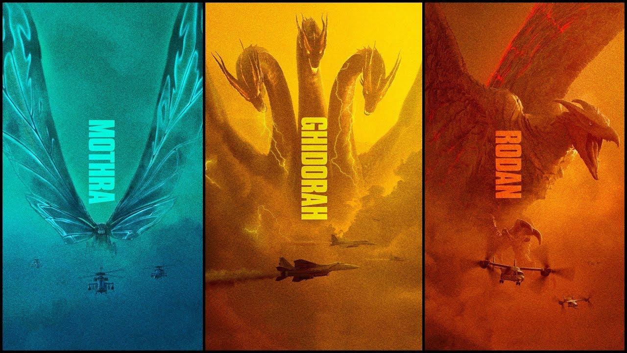 a40aff88539 Origin of The Kaiju: Mothra, Rodan & King Ghidorah - YouTube