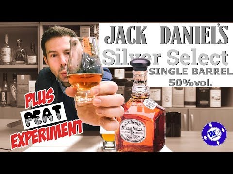 Jack Daniels Silver Select Single Barrel Whiskey Review PLUS Experiment WhiskyWhistle 229