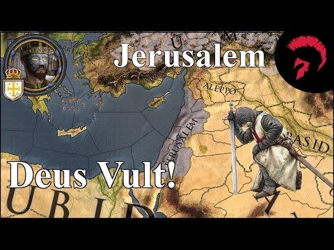 Crusader Kings II | Deus Vult! | Jerusalem #001 | German