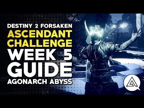 Destiny 2 Forsaken | Ascendant Challenge Week 5 Guide - Agonarch Abyss
