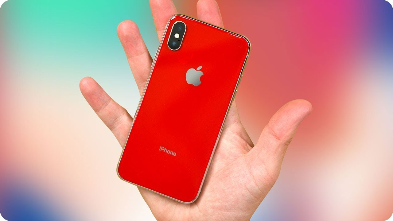 100% authentic 0297c aee27 I Made A Red iPhone X