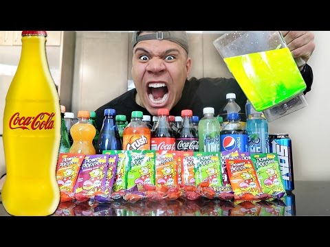FIZZIEST DRINK IN THE WORLD CHALLENGE (EXTREMELY DANGEROUS)