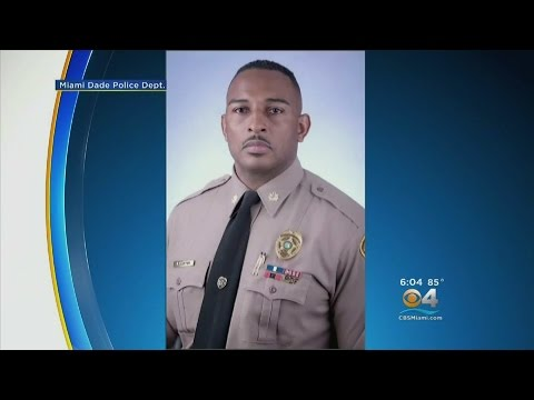 Miami-Dade Police Department Holds Blood Drive For Officer Involved In Motorcycle Crash