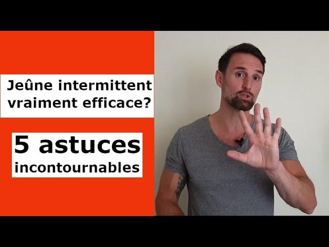 Le jeûne intermittent, vraiment efficace?