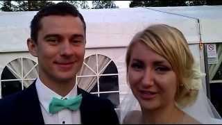 Отзыв Ольги и Антона о свадьбе в шатре и выездной от ЛенАрт 7 июня 2014