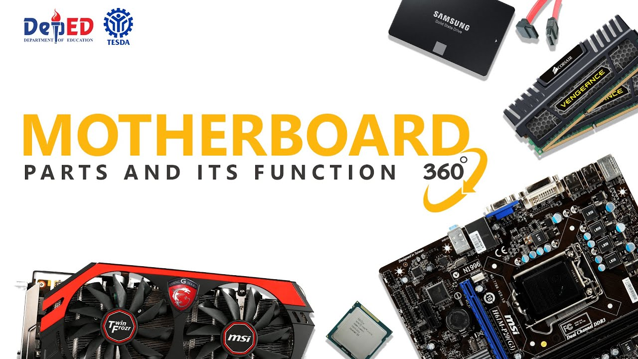 Motherboard and Their Function - Empowerment Technologies K to 12 ...
