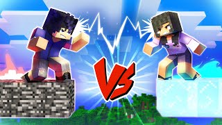 Minecraft BEDROCK VS ICE
