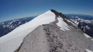 Glacier Peak - Summit Descent and Disappointment Peak - 2016-07-24