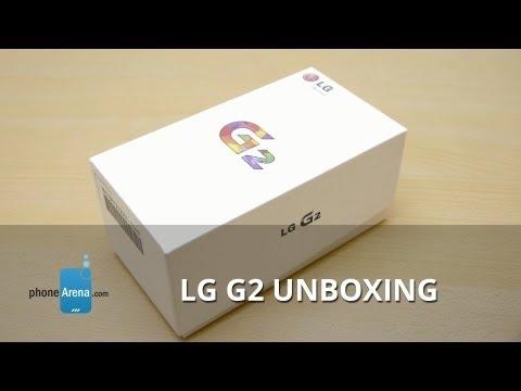 LG G2 Unboxing