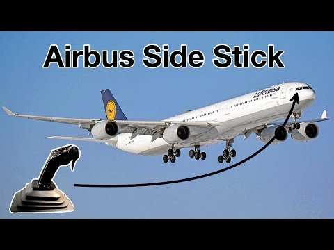 AIRBUS SIDE STICK - Explained by CAPTAIN Joe