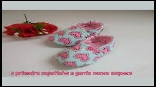 Aprenda a Fazer Sapatinhos Para Bebês