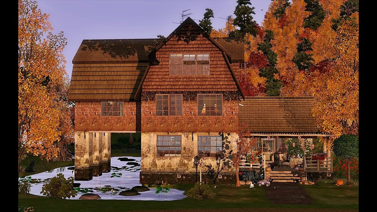 Sims 3 Country House Plans