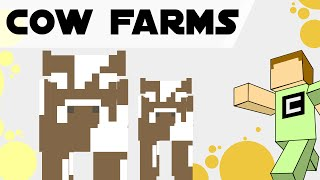 Tips, Tricks and Ideas for Cow Farms in Minecraft 1.9/1.10