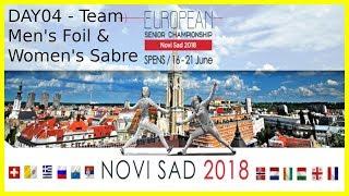 European Championships 2018 Novi Sad Day04 - Piste 8 thumbnail