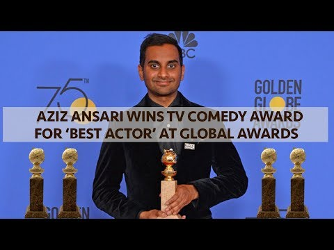 Aziz Ansari wins TV Comedy 'Best Actor' at Golden Globes