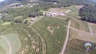 A bird's-eye view of Alstede Farms