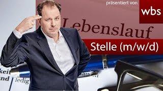 Drittes Geschlecht (m/w/d) künftig bei Stellenanzeige? Nutzerfragen Rechtsanwalt Christian Solmecke