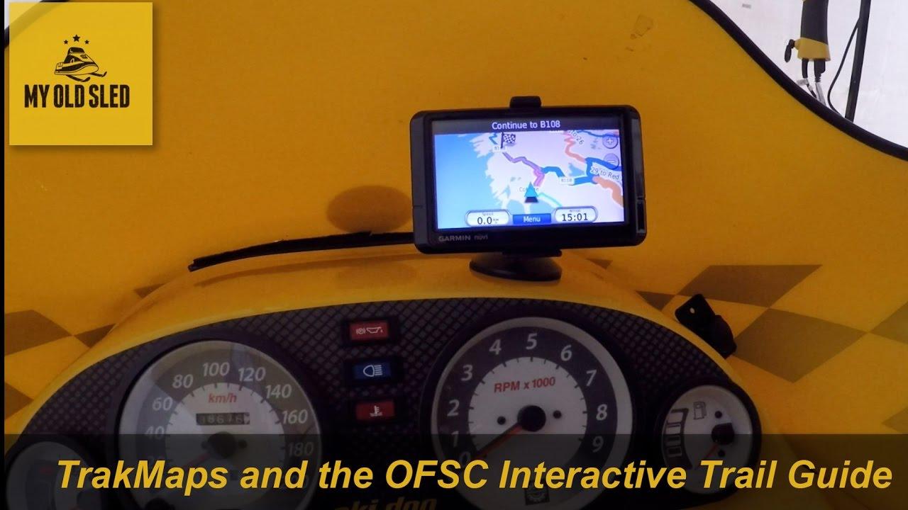 Snowmobile Ontario for Garmin GPS units