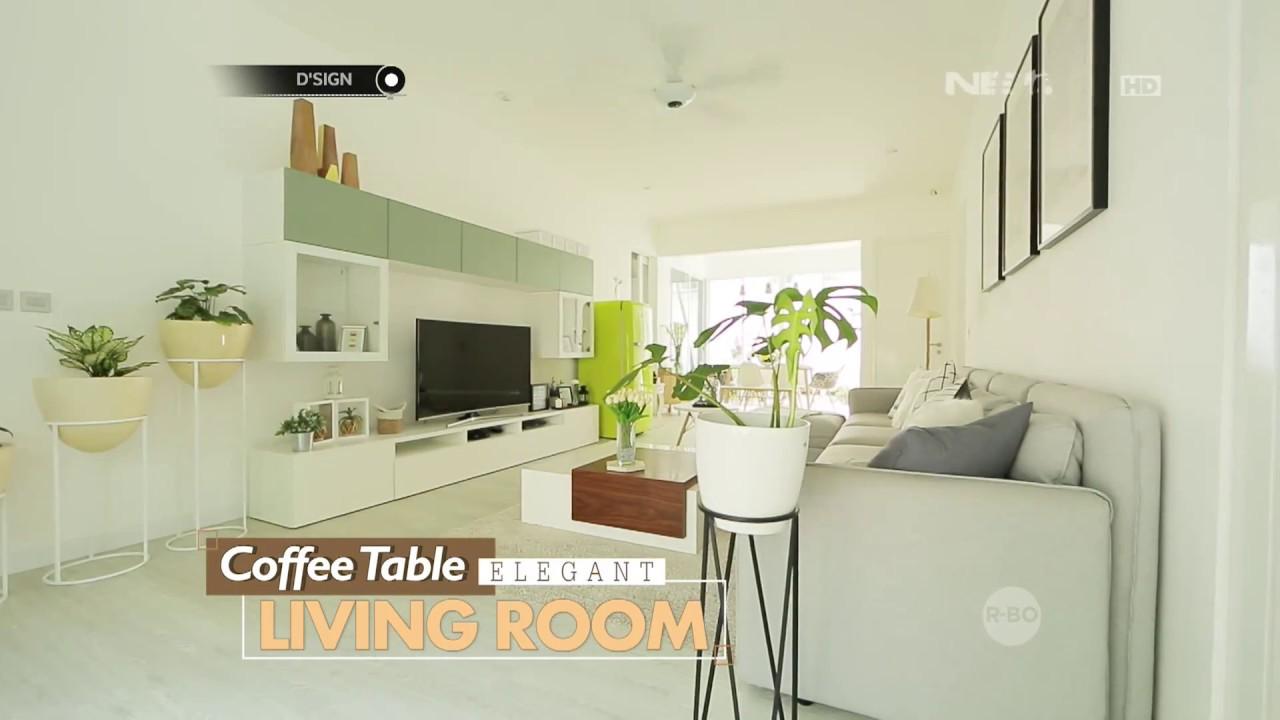 Coffe Table Elegant Living Room