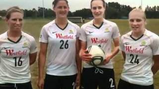 Matildas train with Con