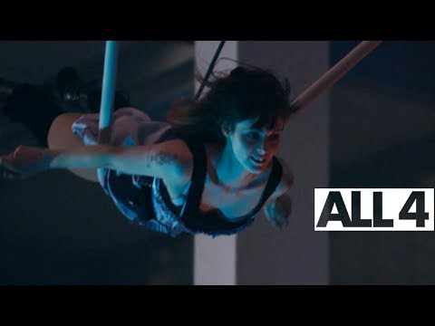Circus Act Swinging From Ropes | Circus Girls