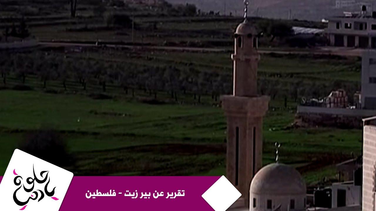 حلوة يا دنيا - تقرير عن بير زيت - فلسطين