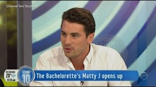 The Bachelorette Australia 2016 Runner Up: Matty J | Studio 10
