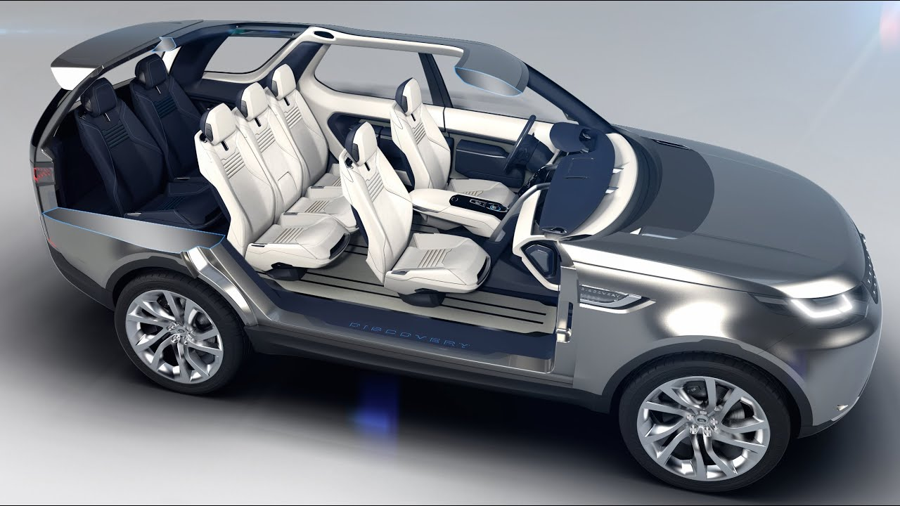 2015 land rover discovery lr4 interior 7 seater in detail. Black Bedroom Furniture Sets. Home Design Ideas